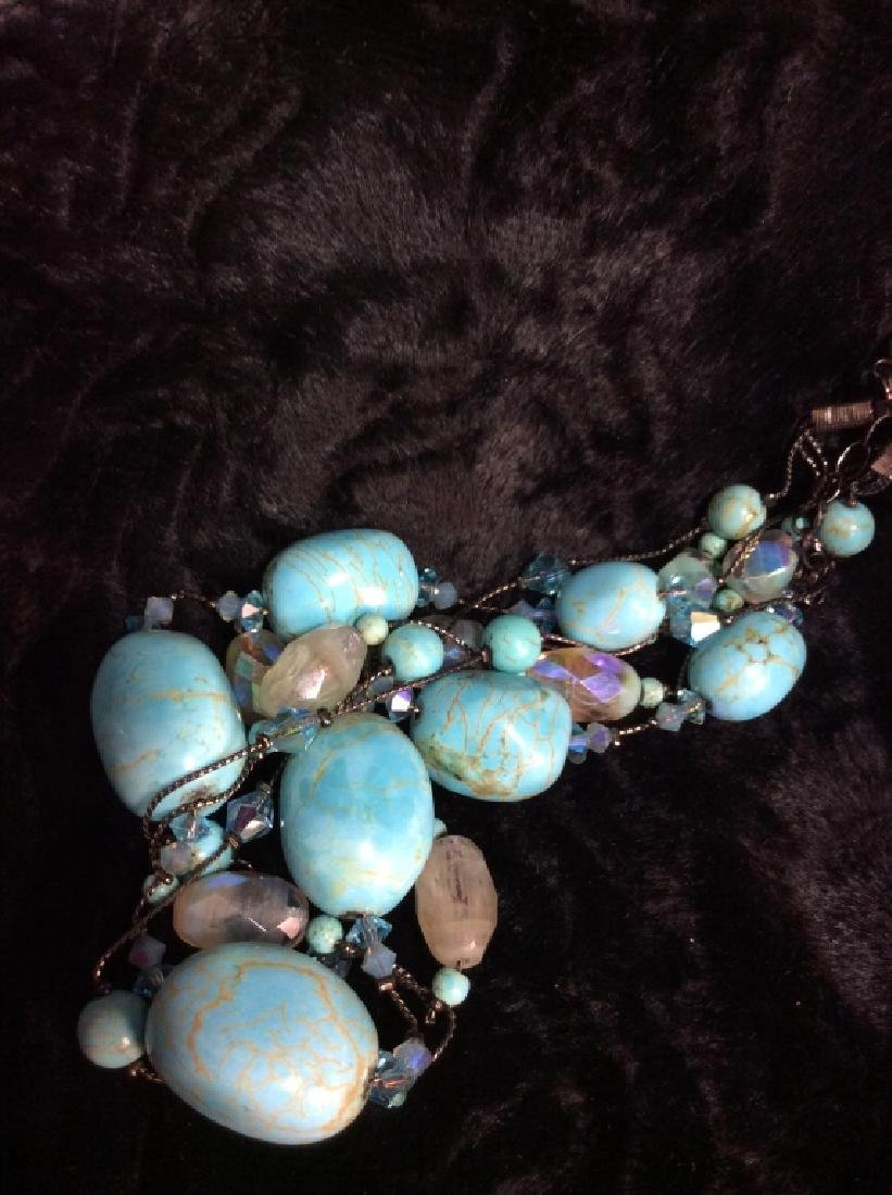 DABBIE REID Natural Stone Bead Necklace - 6
