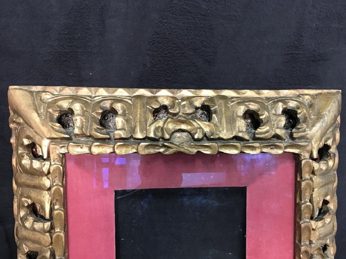 Gold Toned Ornate Composite Picture Frame - 4