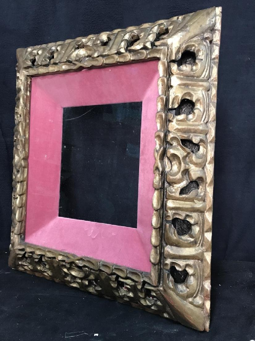 Gold Toned Ornate Composite Picture Frame - 6