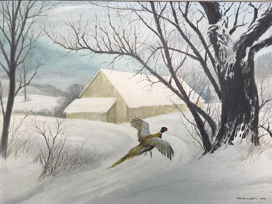 HAL MCINTOSH 1964 Painting On Canvas