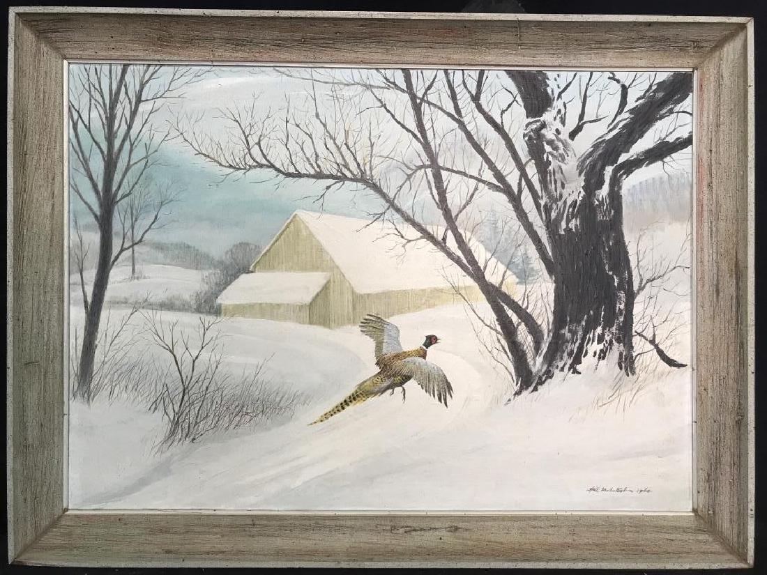 HAL MCINTOSH 1964 Painting On Canvas - 2