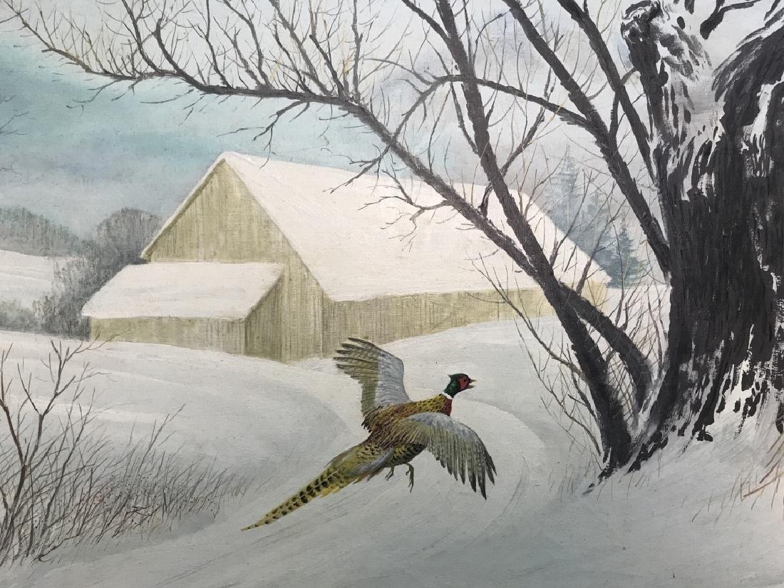 HAL MCINTOSH 1964 Painting On Canvas - 3