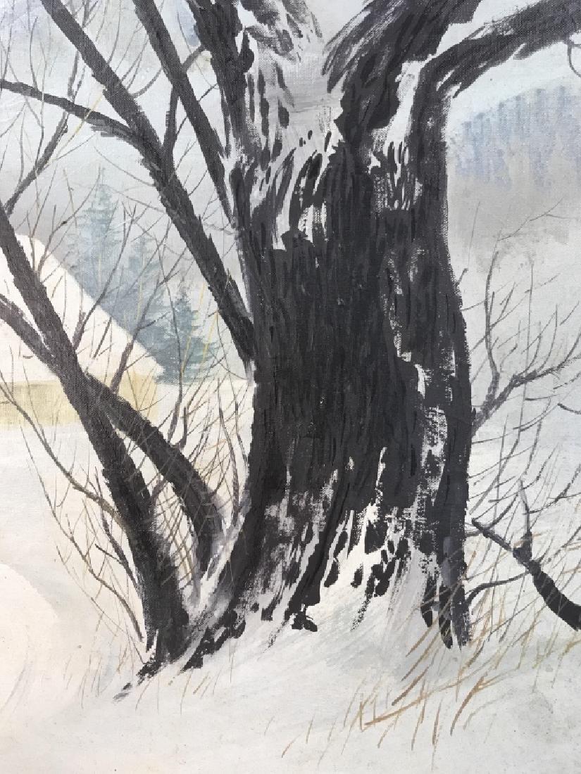HAL MCINTOSH 1964 Painting On Canvas - 5