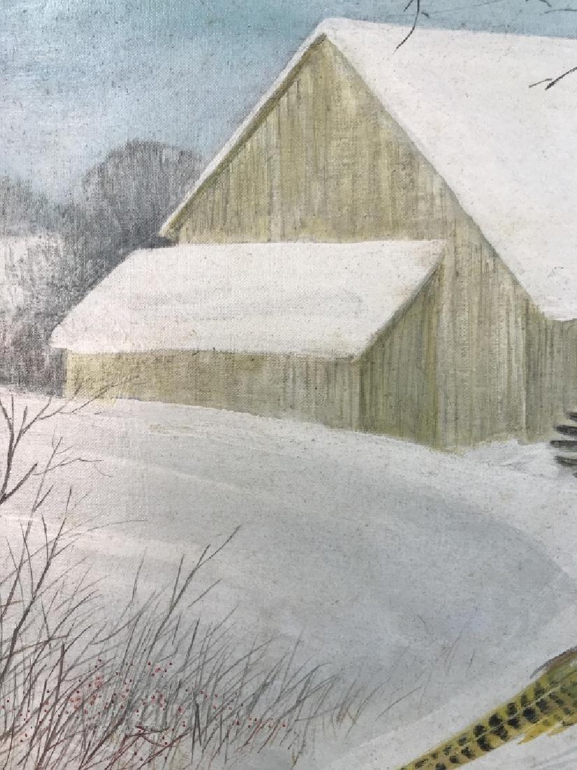 HAL MCINTOSH 1964 Painting On Canvas - 9