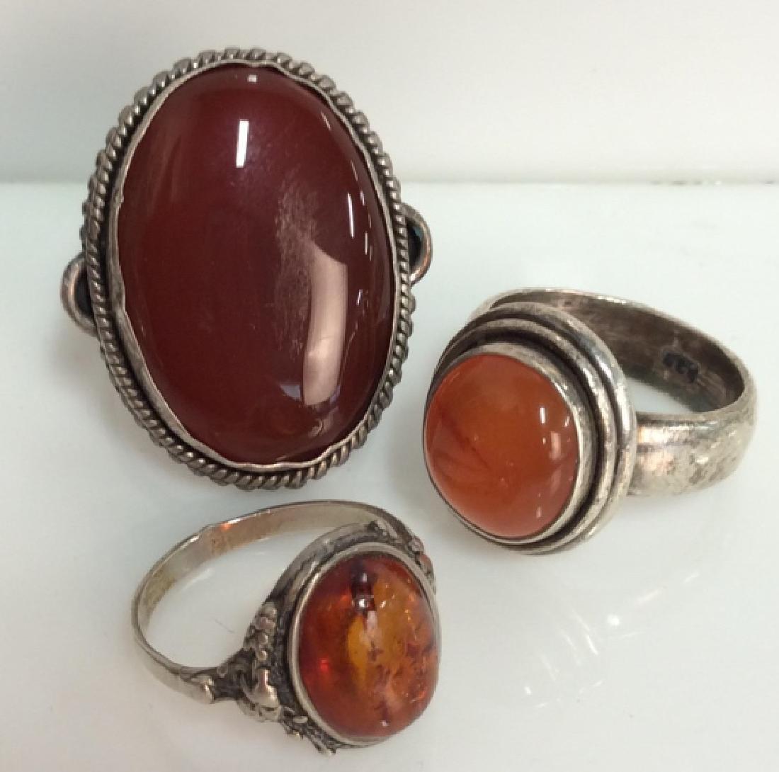 Sterling Silver Women's Rings - 2