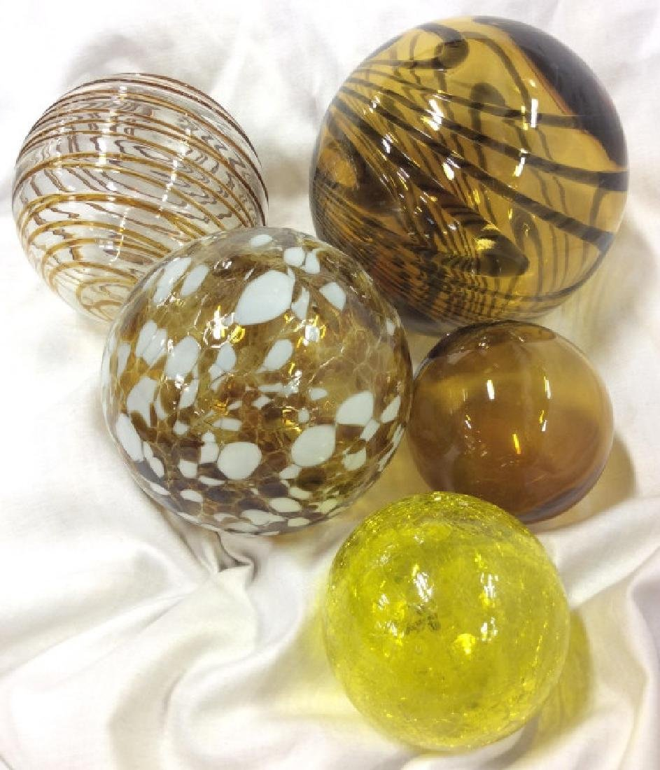 Handcrafted WORLDLY GOODS Gazing Balls