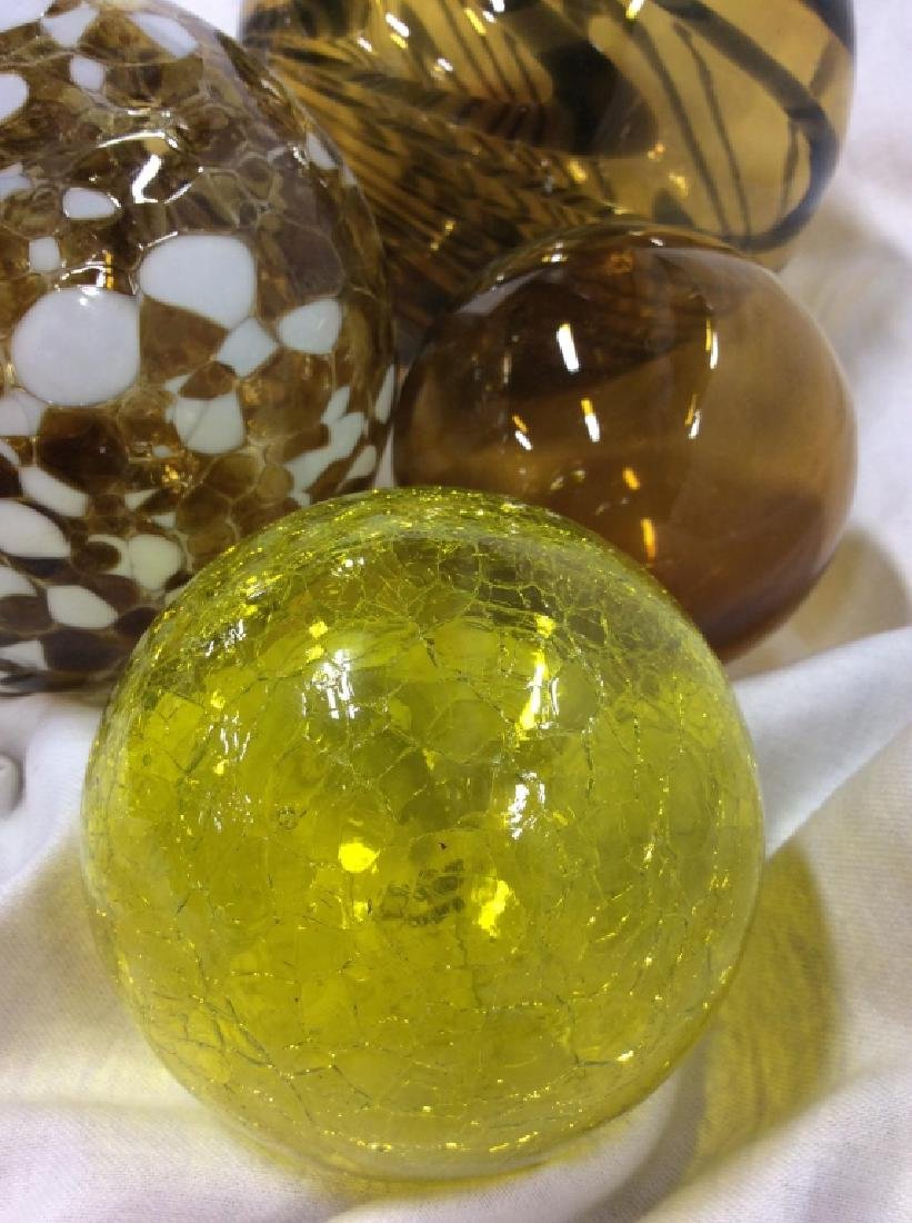 Handcrafted WORLDLY GOODS Gazing Balls - 2