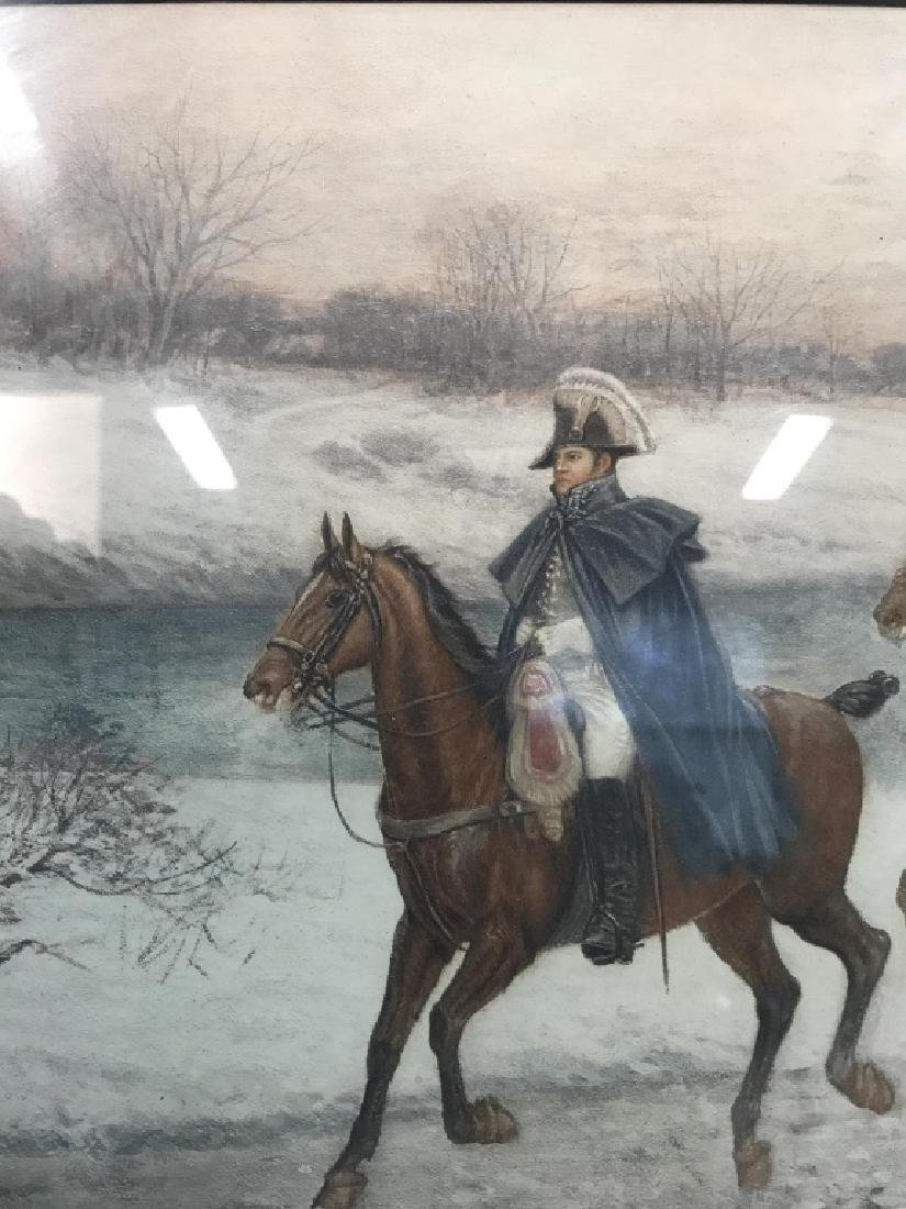 Soldiers On Horses Signed Print Artwork - 3