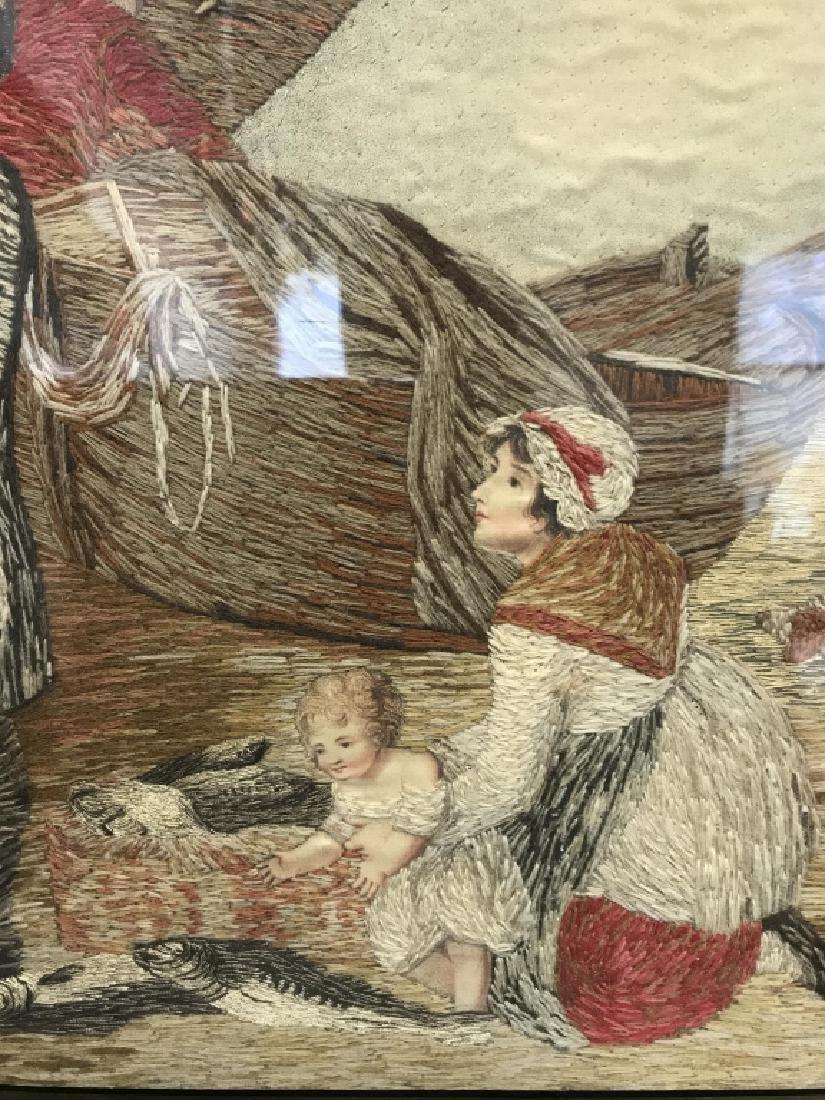 Multimedia Framed Woven Artwork - 5