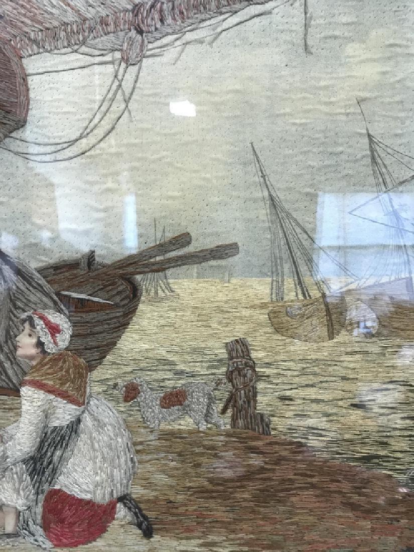 Multimedia Framed Woven Artwork - 6
