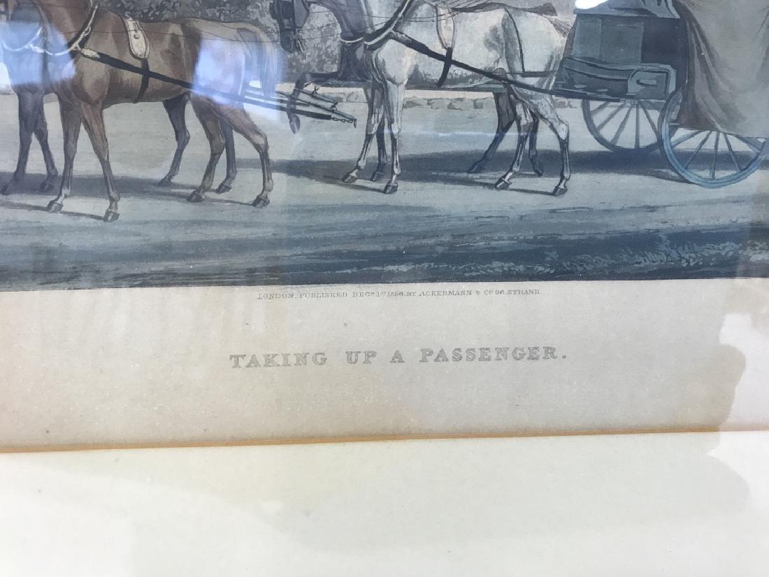 J. Harris Sculpt Taking Up A Passenger Print - 3