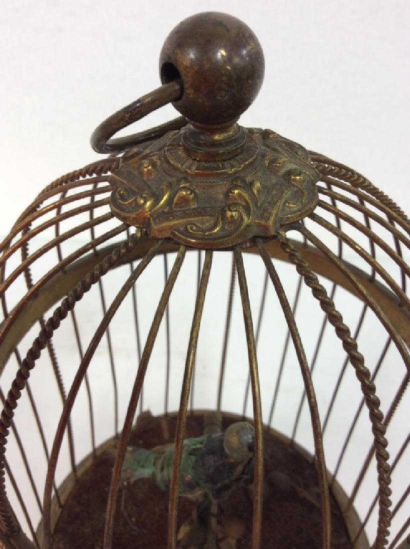 Vintage/Antique French Singing Bird Music Box - 5