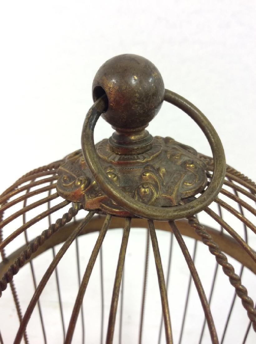 Vintage/Antique French Singing Bird Music Box - 6