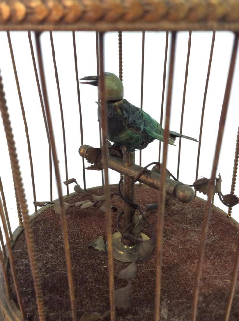 Vintage/Antique French Singing Bird Music Box - 7