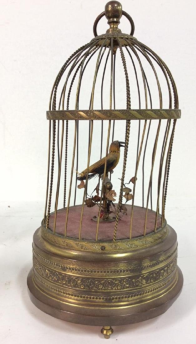 Vintage/Antique German Singing Bird Music Box