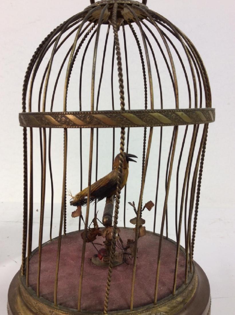 Vintage/Antique German Singing Bird Music Box - 4