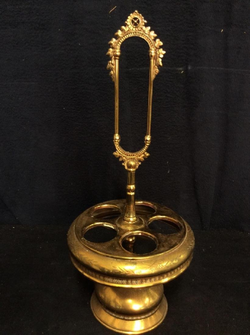 Vintage Victorian Caster Cruet Set - 4