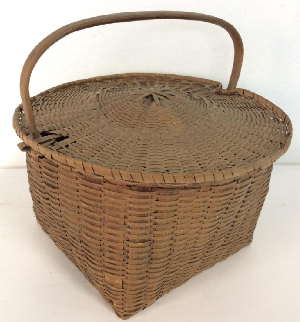 19th Century Antique Pie Basket