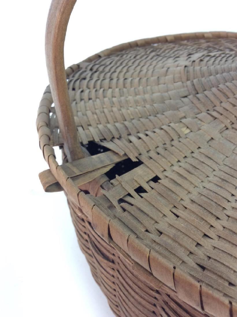 19th Century Antique Pie Basket - 2