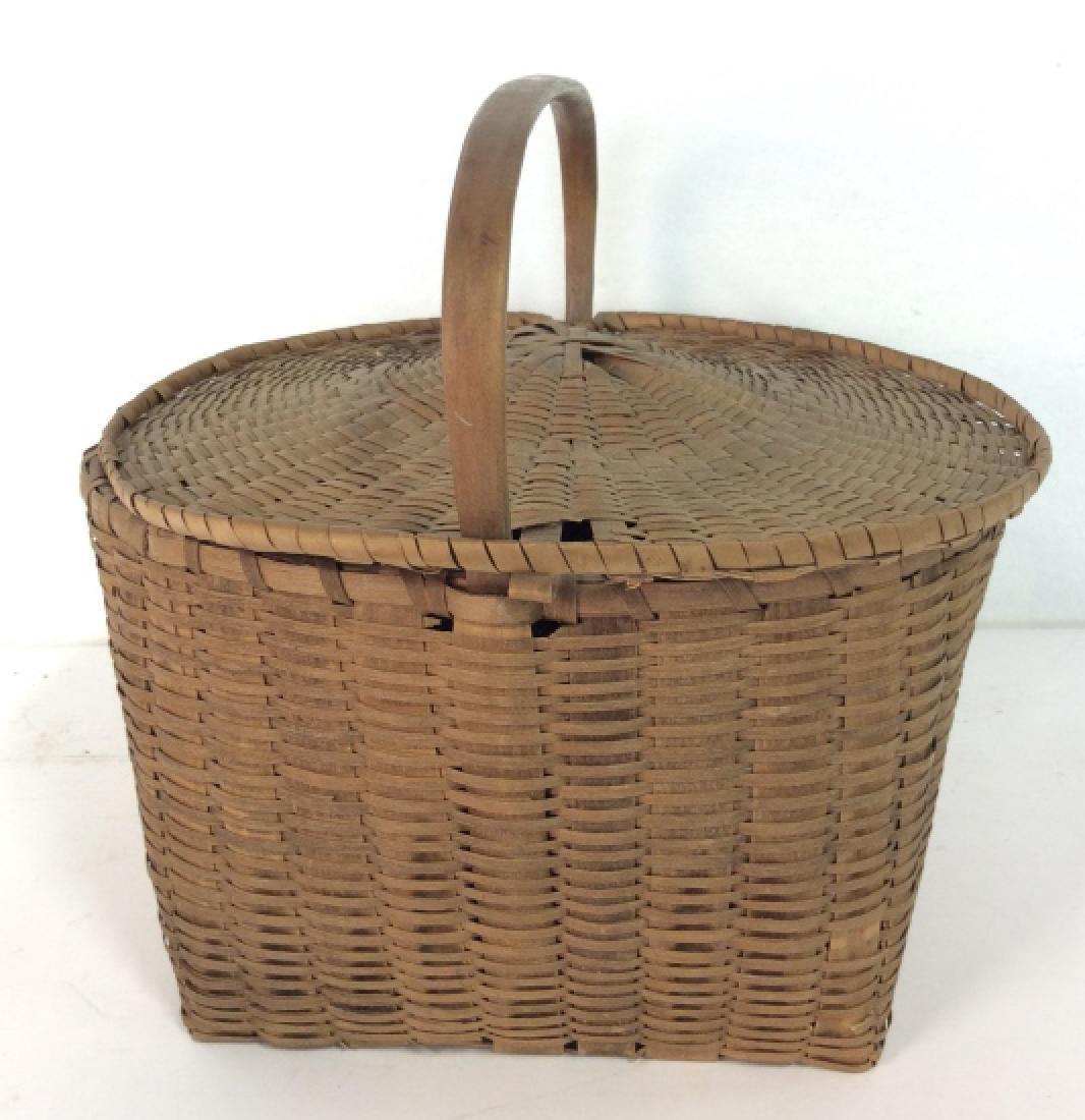 19th Century Antique Pie Basket - 4
