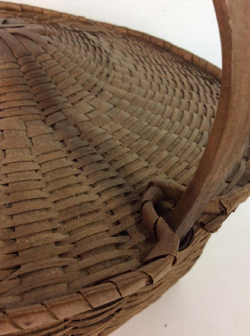 19th Century Antique Pie Basket - 6