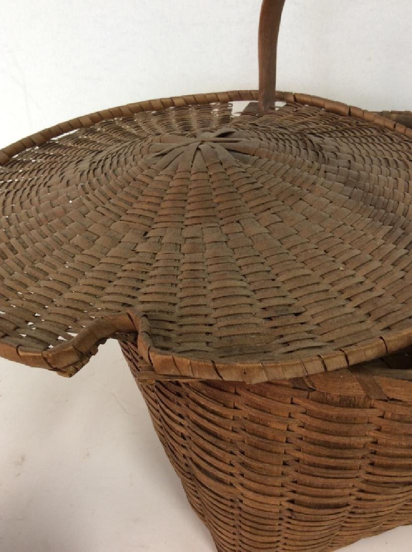 19th Century Antique Pie Basket - 7