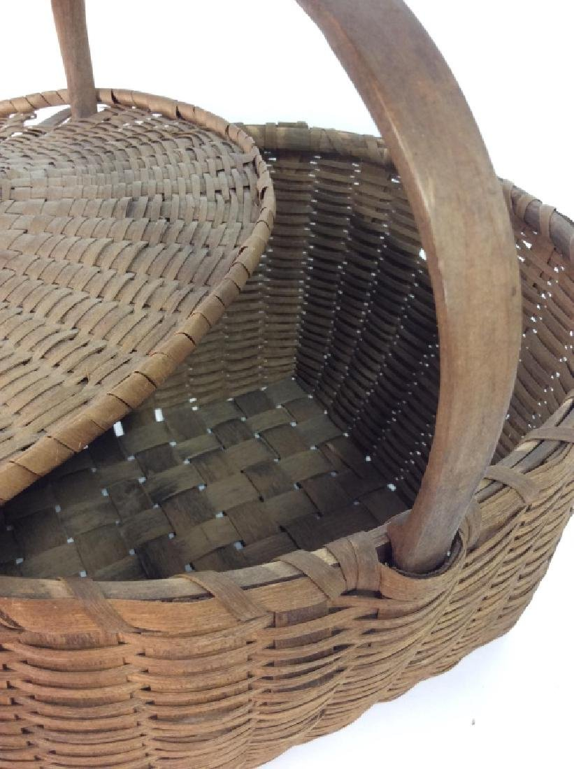 19th Century Antique Pie Basket - 8