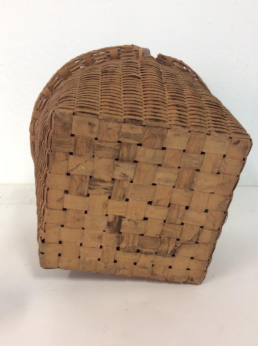 19th Century Antique Pie Basket - 9