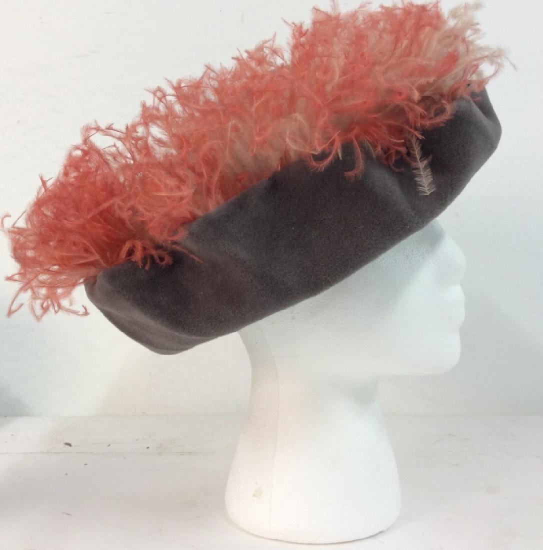 Imported Velour FLAMANO Italian Hat w Box