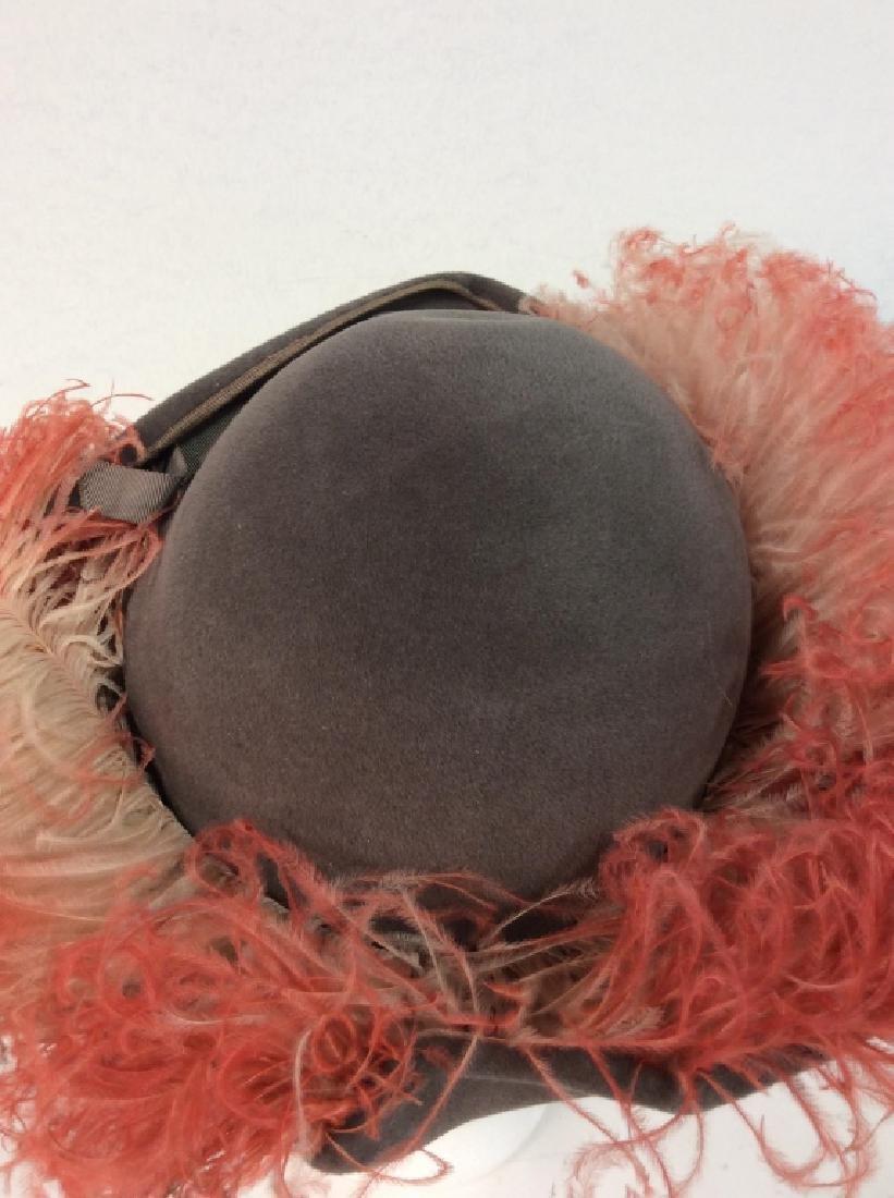 Imported Velour FLAMANO Italian Hat w Box - 3