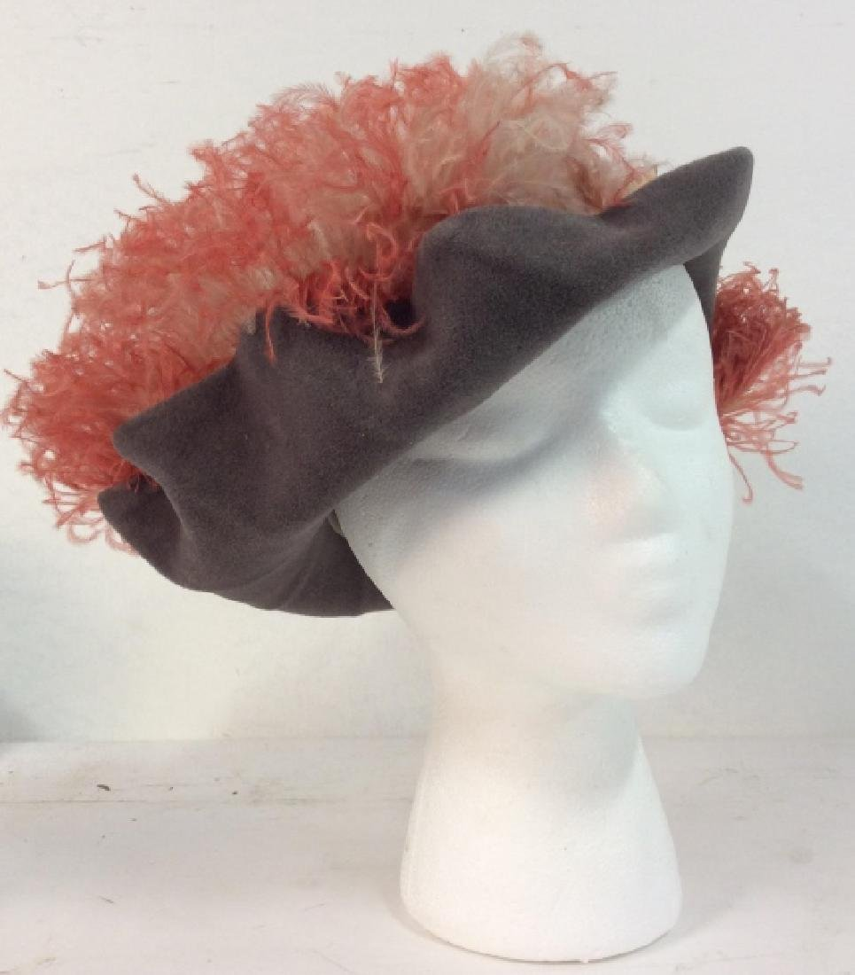 Imported Velour FLAMANO Italian Hat w Box - 6