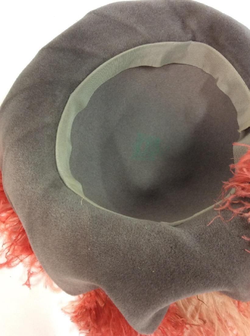 Imported Velour FLAMANO Italian Hat w Box - 7