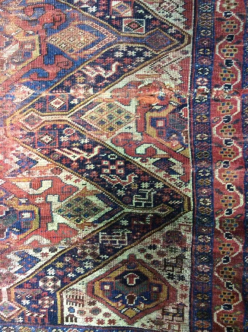 Antique Hand Woven Oriental Carpet - 3
