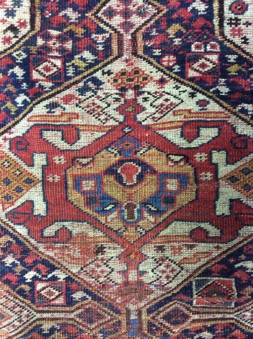 Antique Hand Woven Oriental Carpet - 5