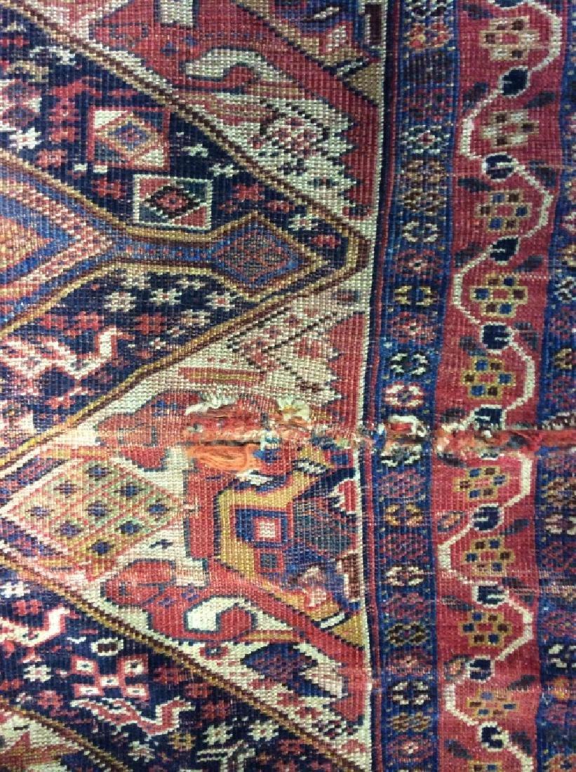 Antique Hand Woven Oriental Carpet - 6