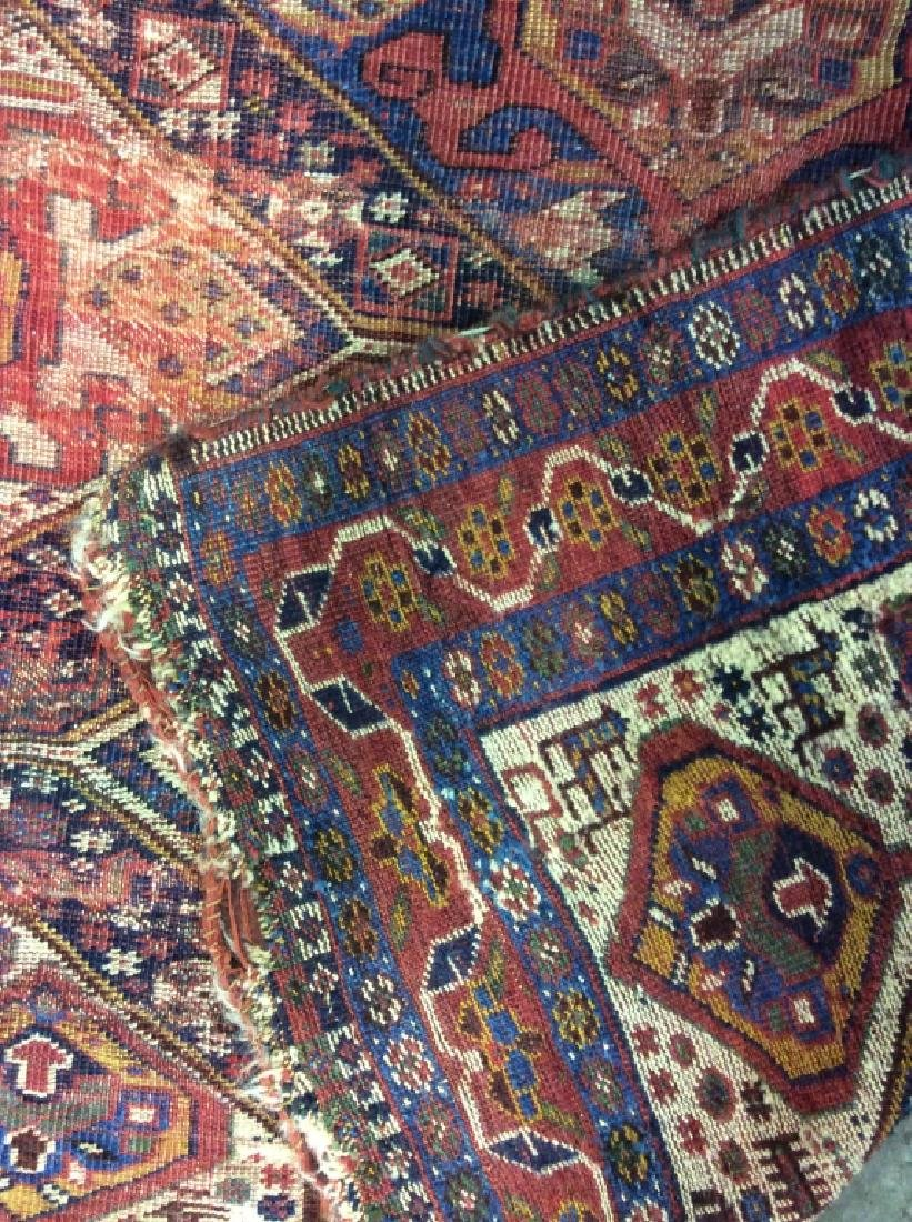 Antique Hand Woven Oriental Carpet - 7