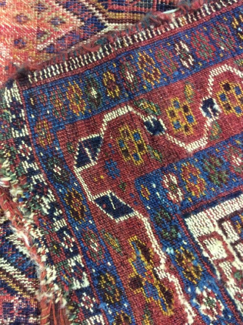 Antique Hand Woven Oriental Carpet - 8
