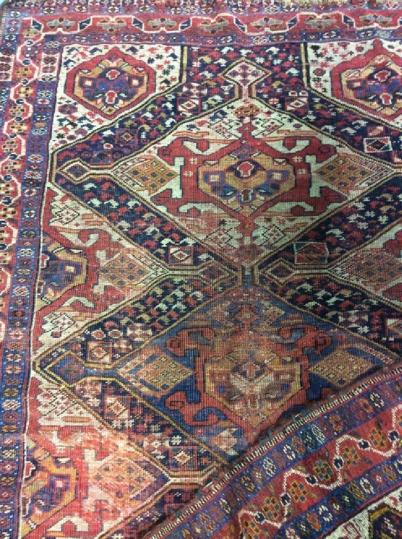 Antique Hand Woven Oriental Carpet - 9
