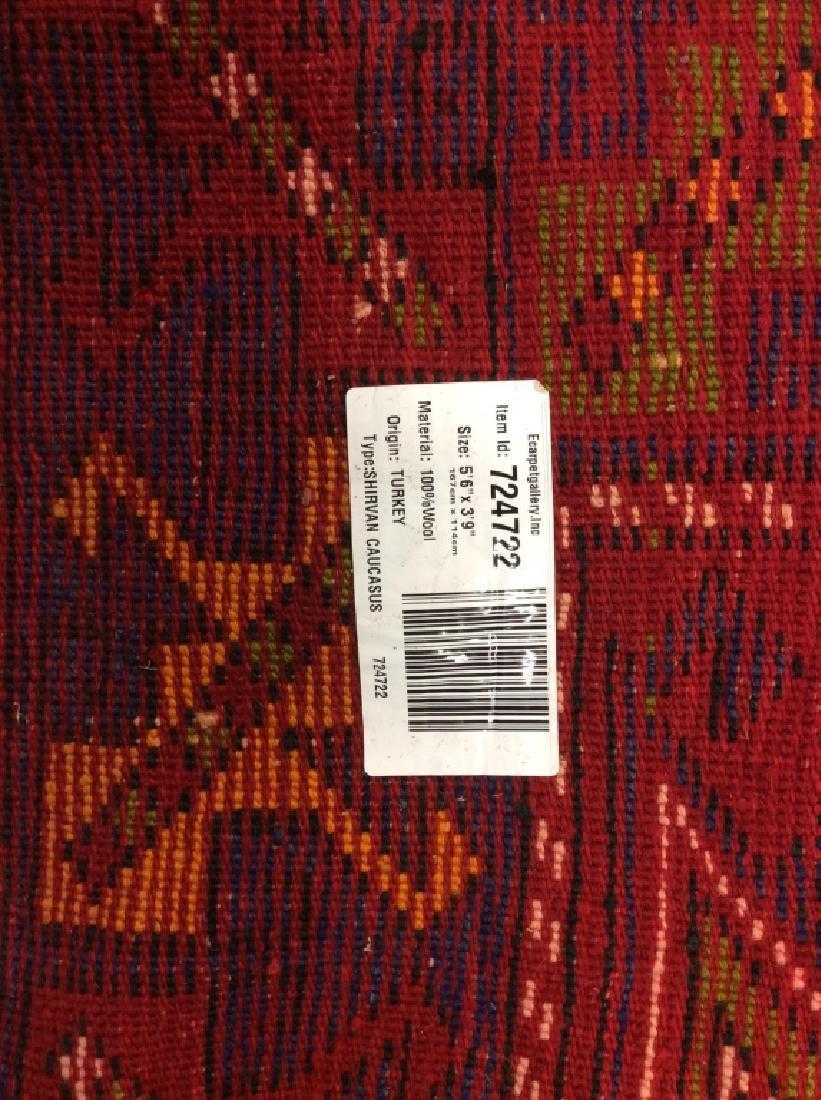 Hand made Vintage Turkish Wool Carpet - 10