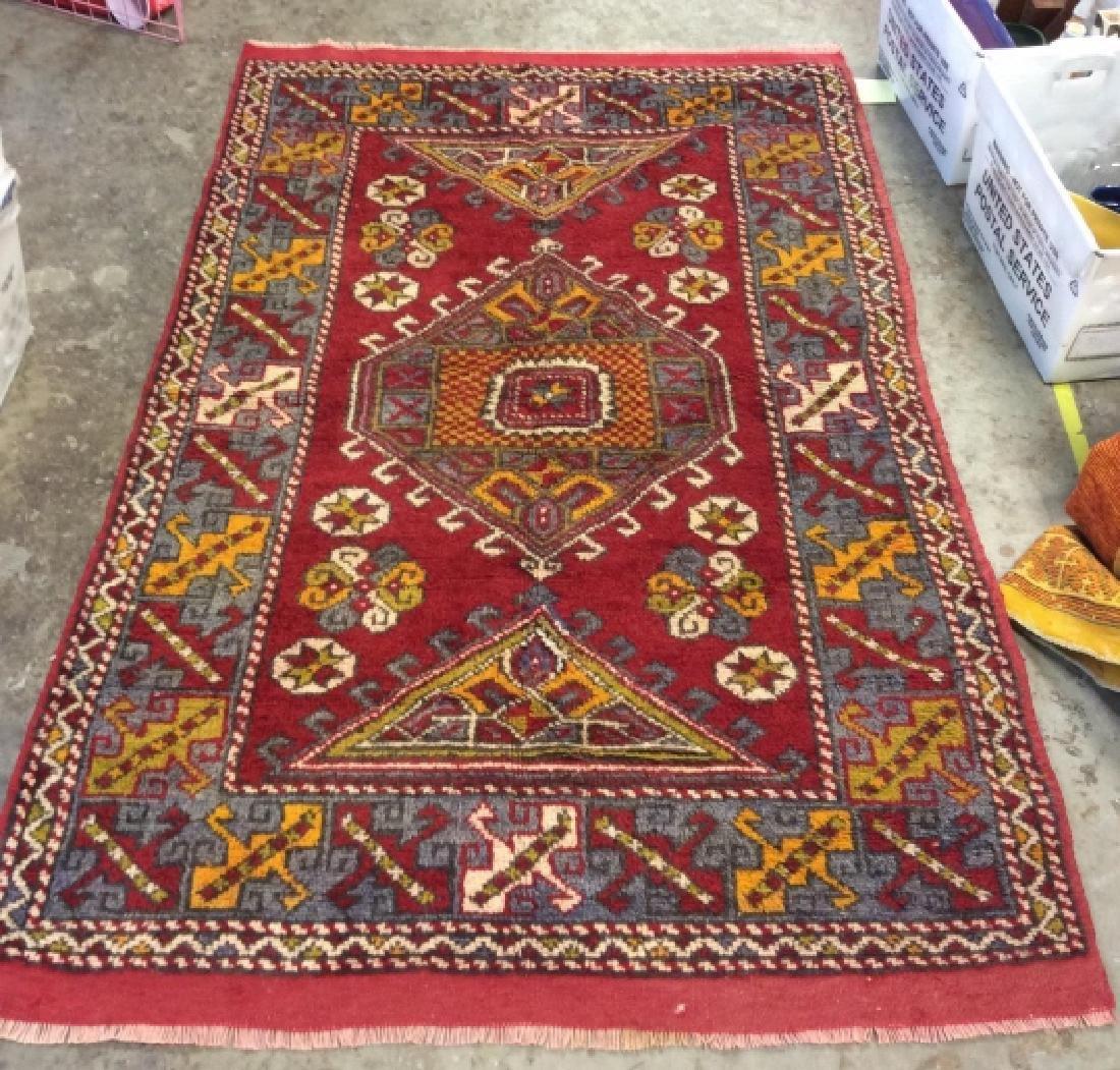 Hand made Vintage Turkish Wool Carpet
