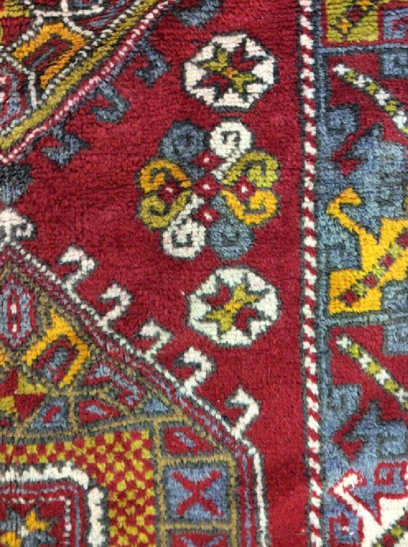 Hand made Vintage Turkish Wool Carpet - 6