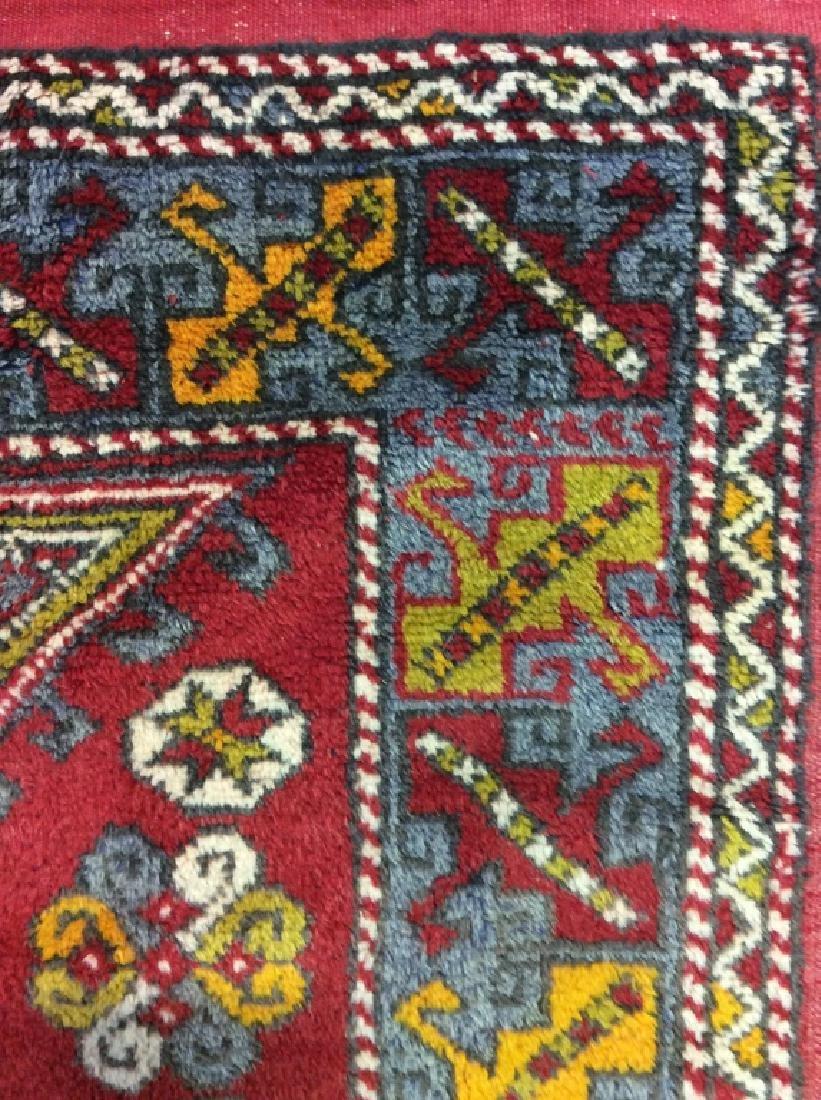 Hand made Vintage Turkish Wool Carpet - 7
