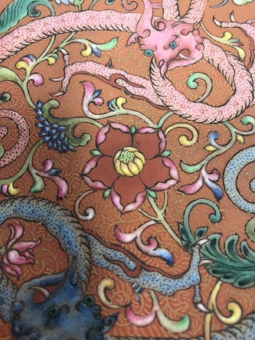 Vintage Porcelain Intricately Detailed Asian Bowl - 10