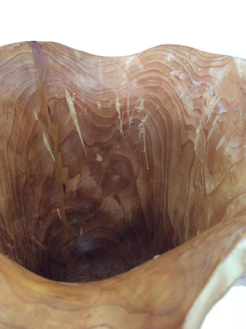 Organic Free Form Wood Sculpted Bowl - 2