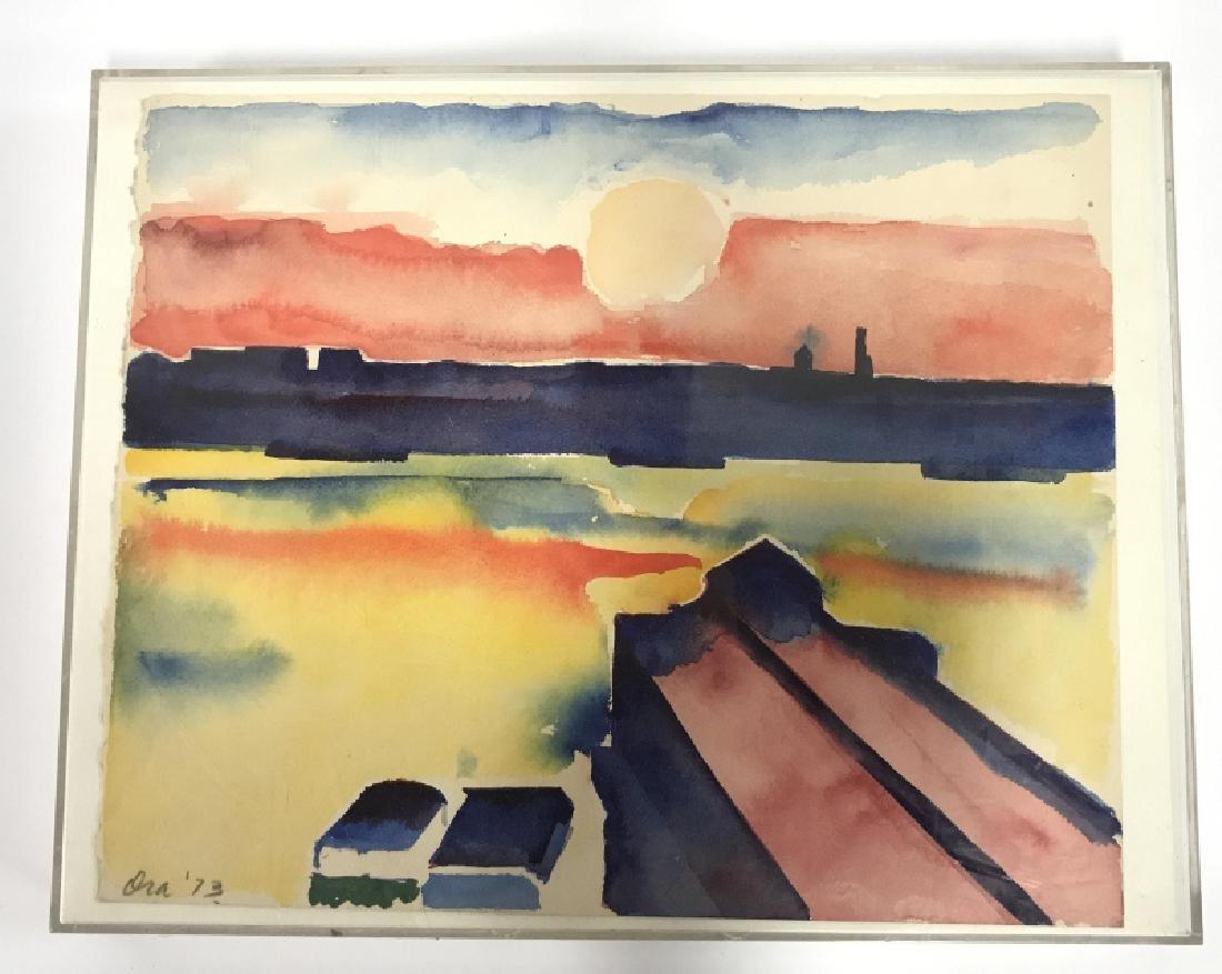 Ora '73 Watercolor Painting Plastic Casing - 2