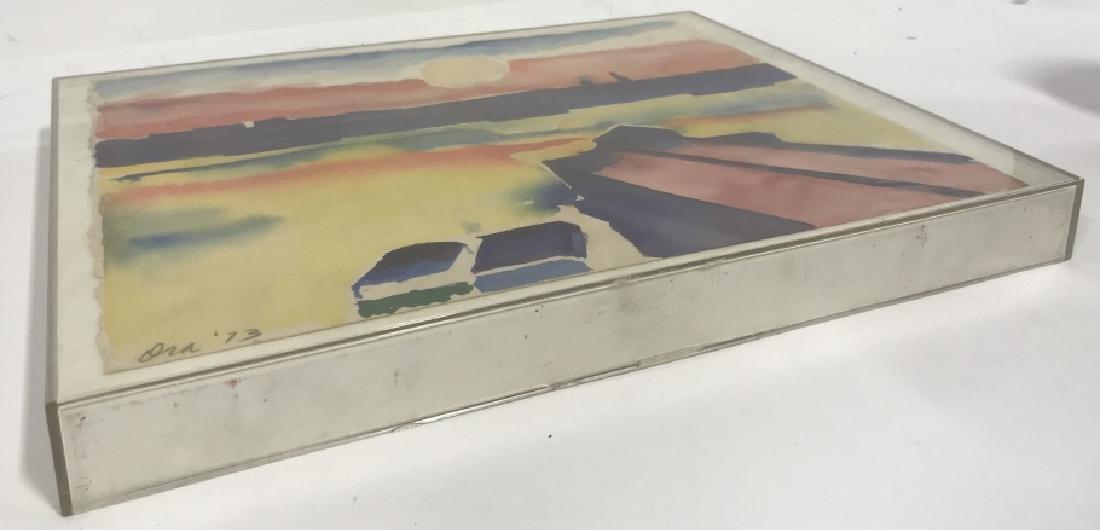 Ora '73 Watercolor Painting Plastic Casing - 4