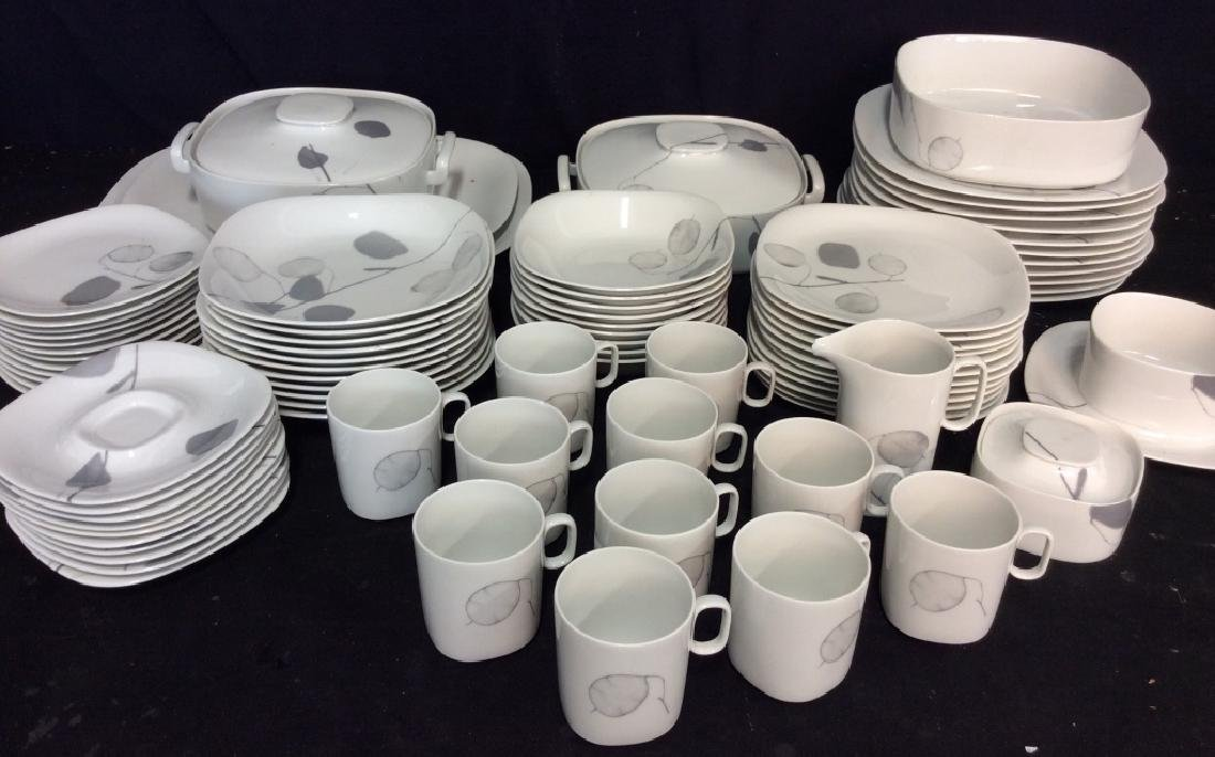Set84 BLOCK Langenthal Porcelain Dinnerware