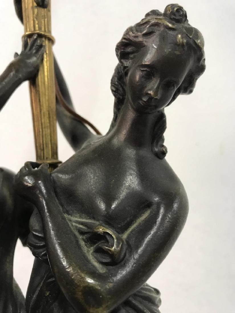 Vintage Partial Female Nude Lamp - 5