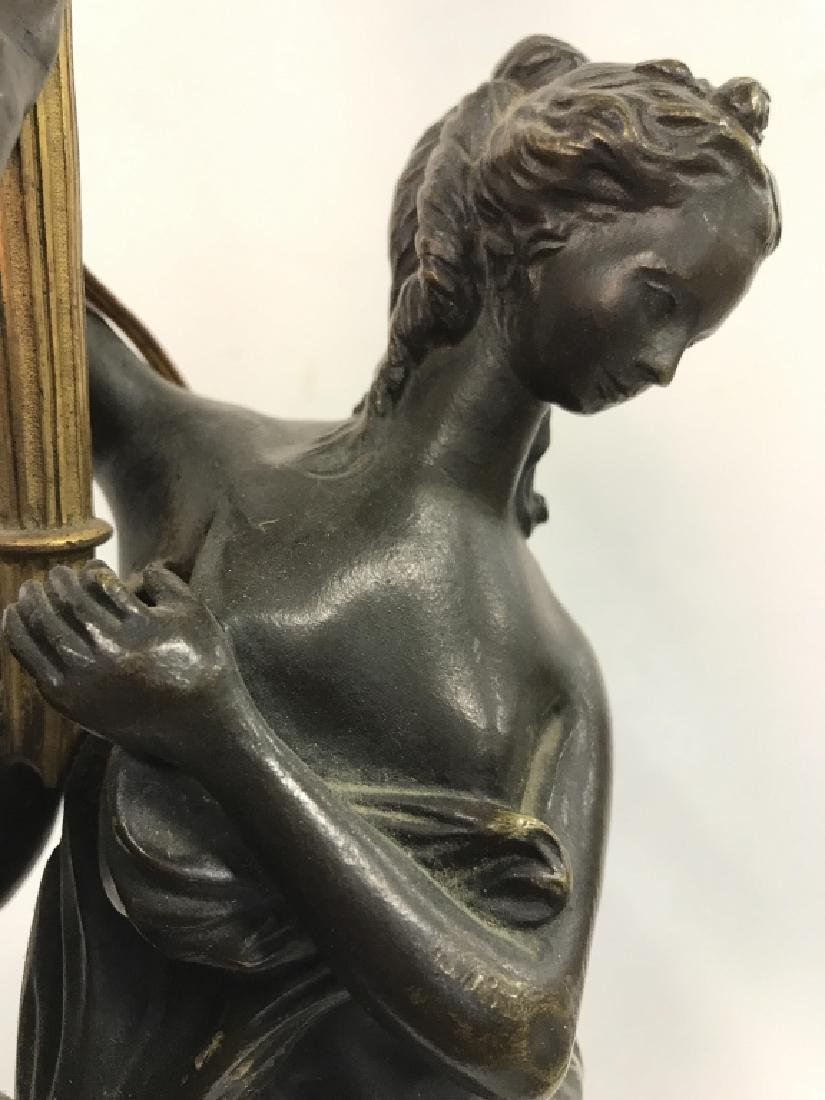 Vintage Partial Female Nude Lamp - 7