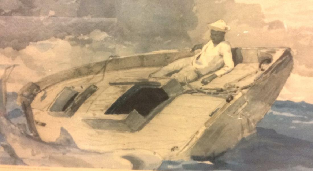 Winslow Homer Framed Print Art